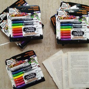 Sharpie Fabric Marker Pack of 8