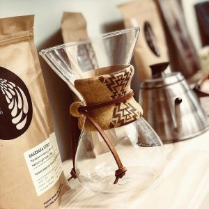 Chemex Coffee brewer - 6 cup with Custom Collar