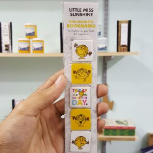 Little Miss Sunshine Mini Magnetic Clip Bookmarks set of 5