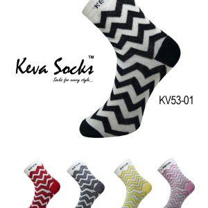 kv53 chevron socks