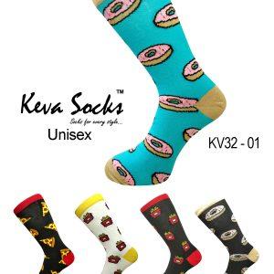 kv32 funky foodie socks